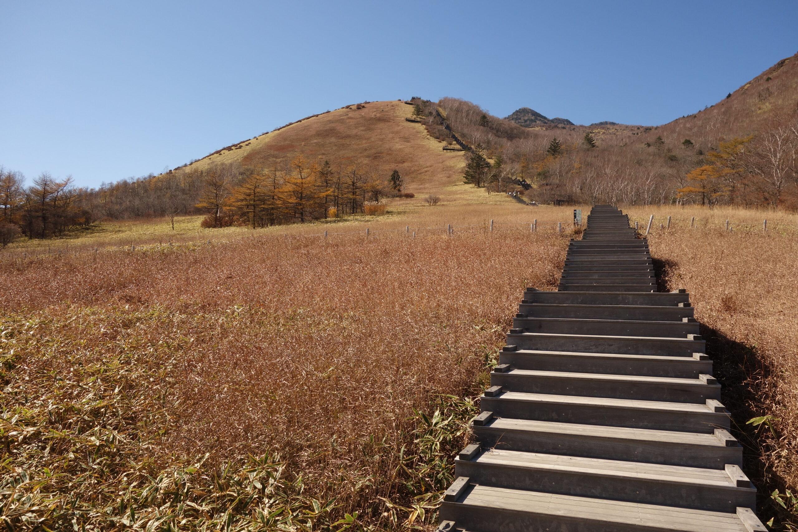 霧降高原駐車場〜赤薙山