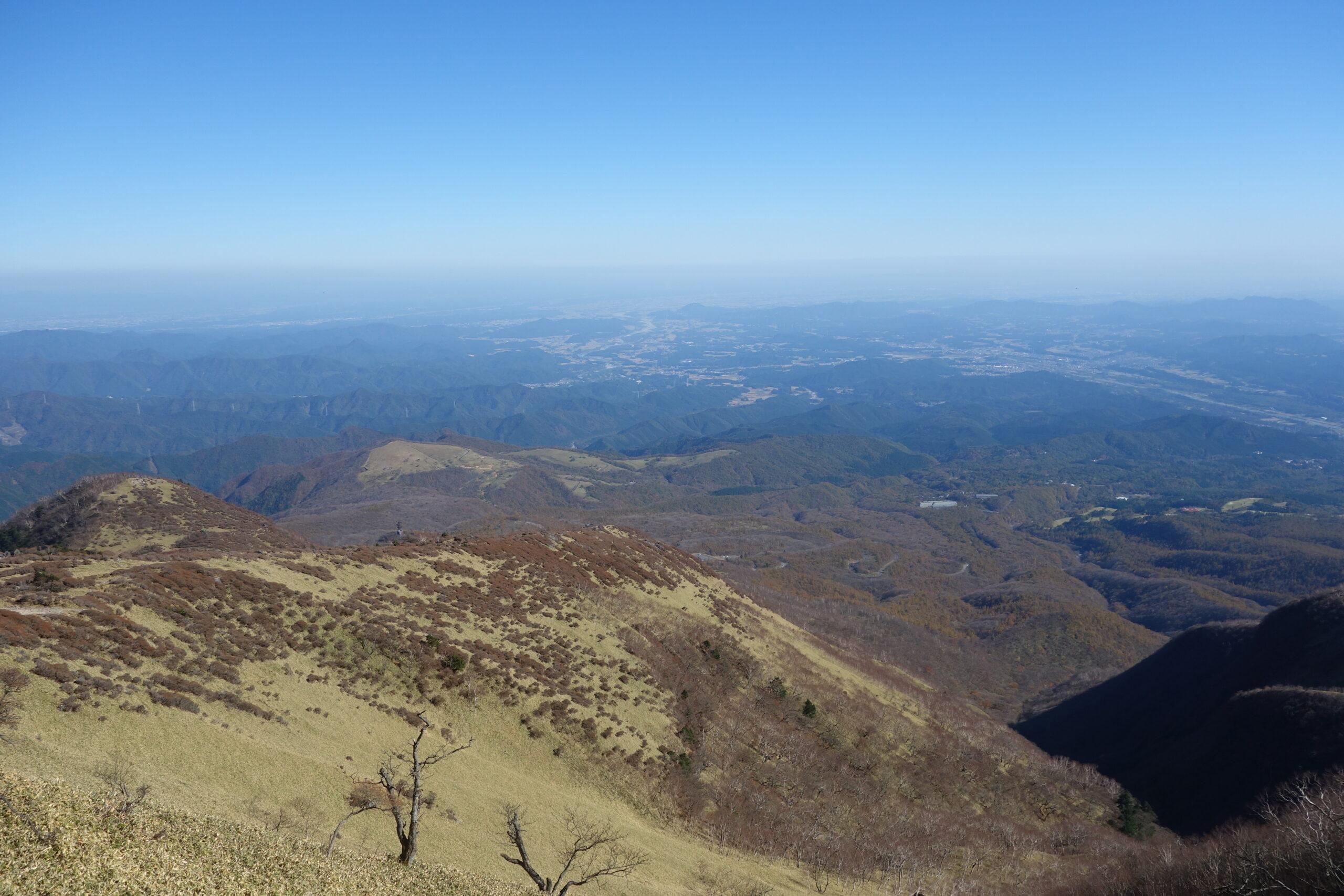 赤薙山〜霧降高原〜大山