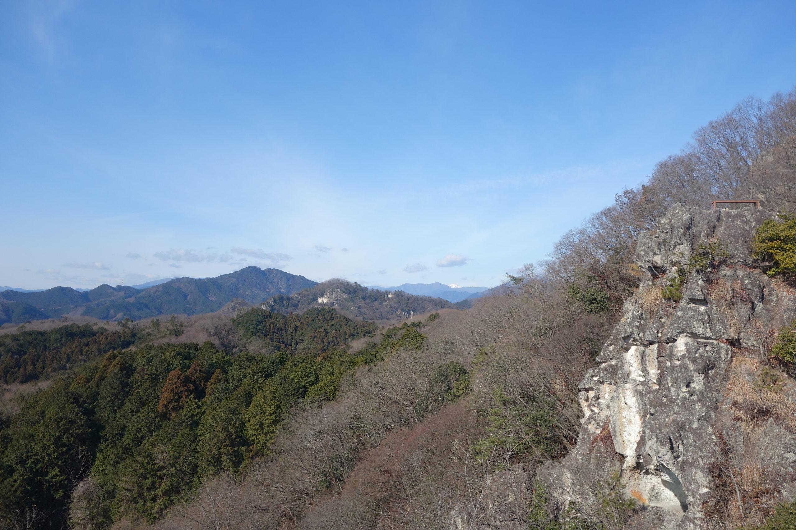 栃木百名山 日吉神社登山口〜岩山