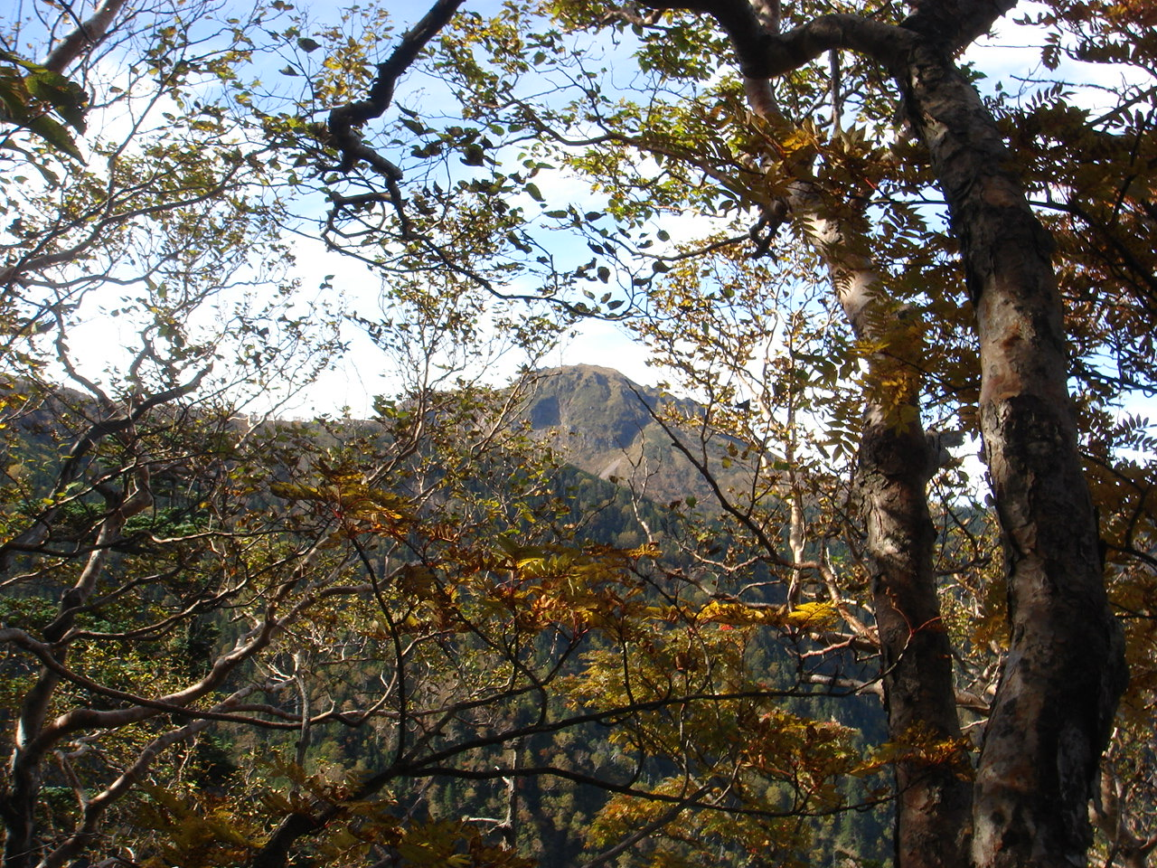 白根山(湯元登山口〜) 金精山〜五色山