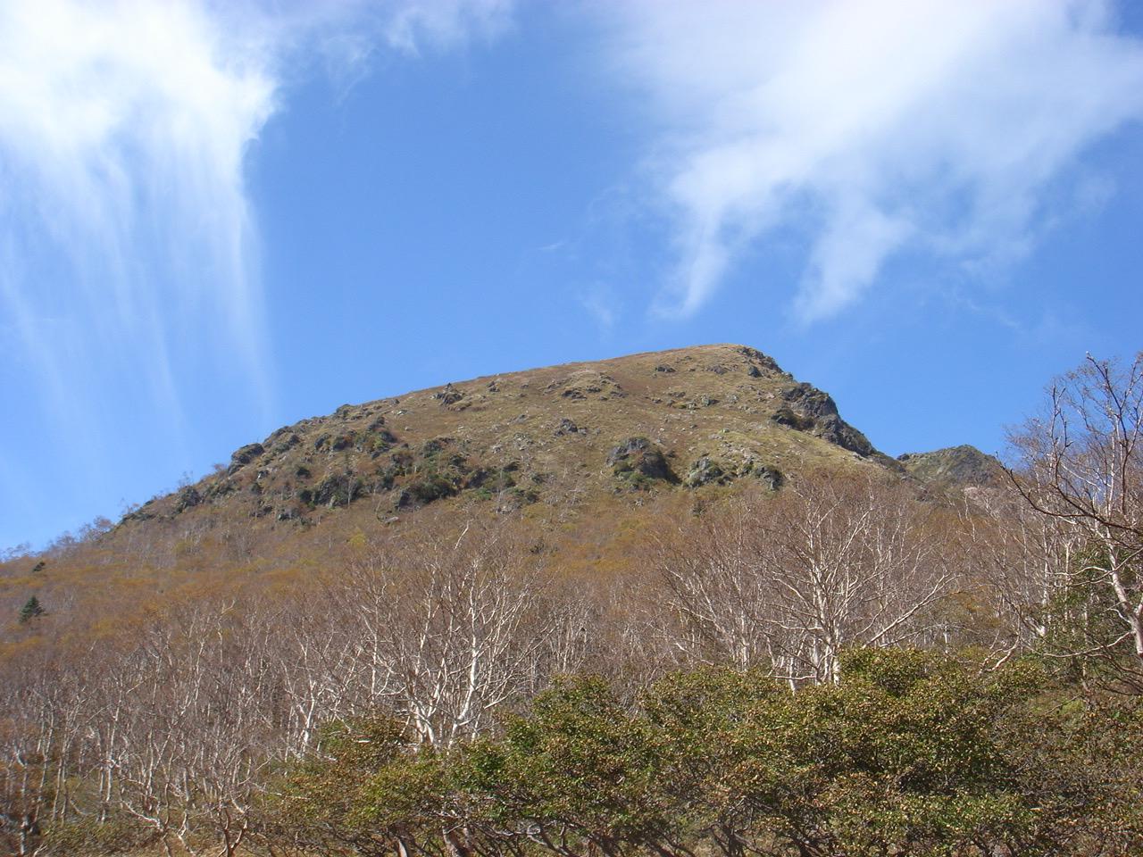 白根山(湯元登山口〜) 奥白根山 山頂〜避難小屋
