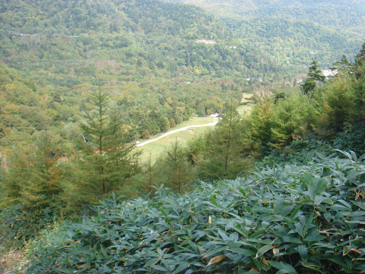 白根山(湯元登山口〜) 前白根山 山頂〜日光湯元温泉スキー場(下山)