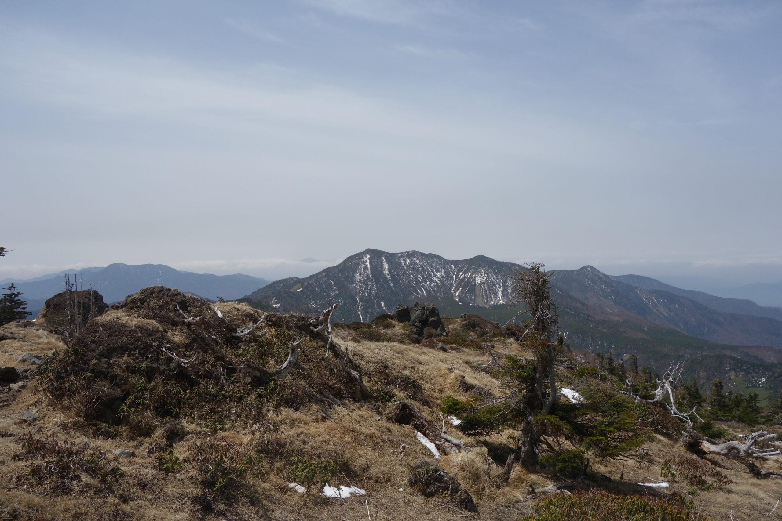 日光白根山 ロープウェイ山頂駅〜日光白根山山頂