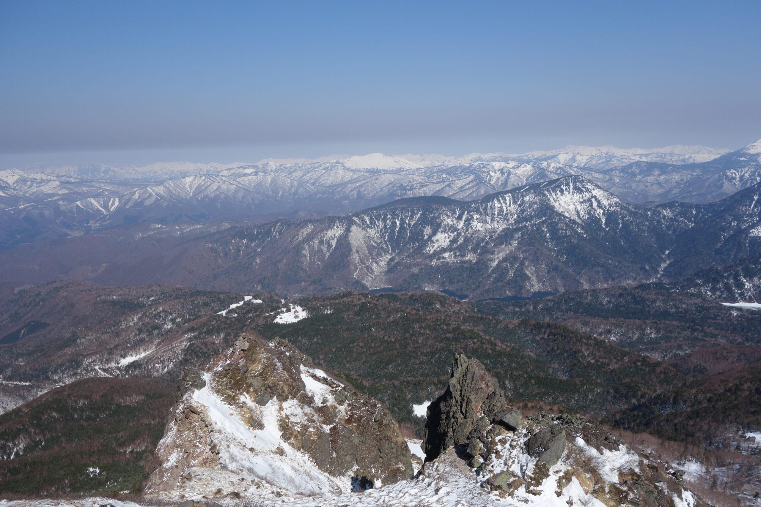 白根山 菅沼口〜白根山(雪山,ゴールデンウィーク)