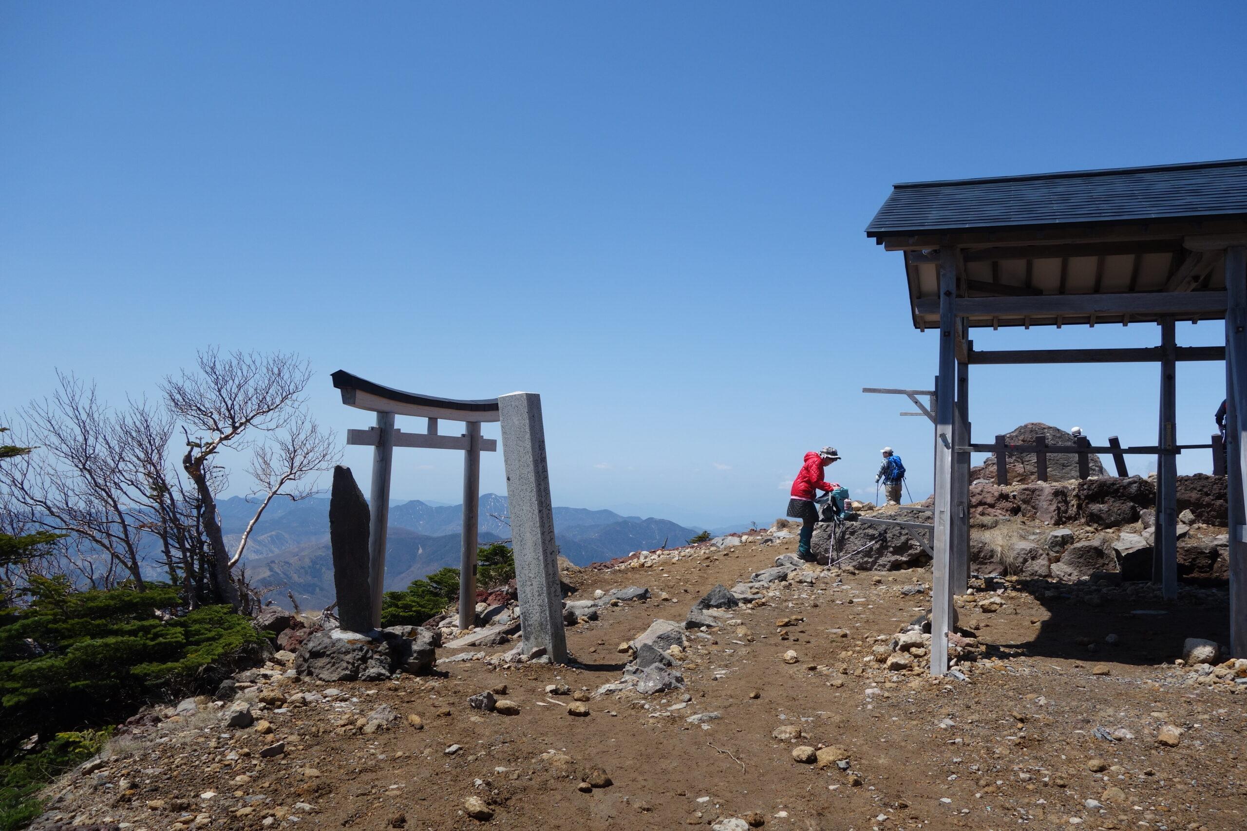 男体山 二荒山神社〜男体山山頂