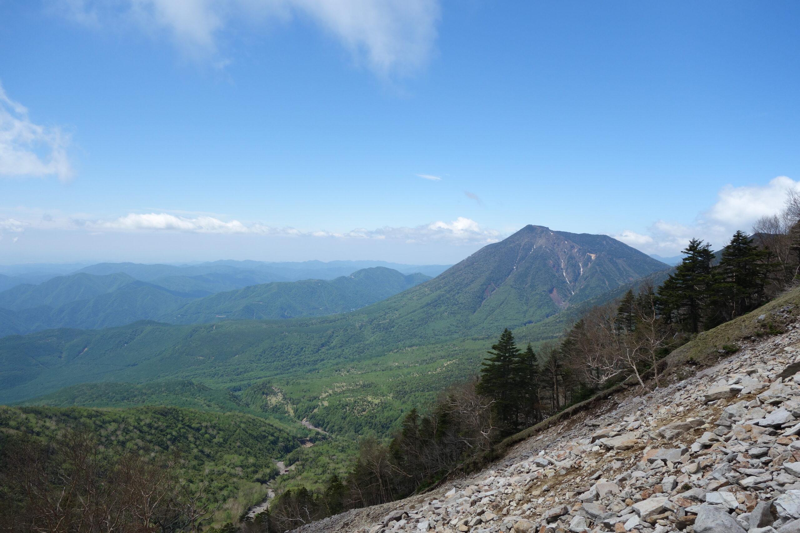 女峰山 黒岩〜女峰山山頂