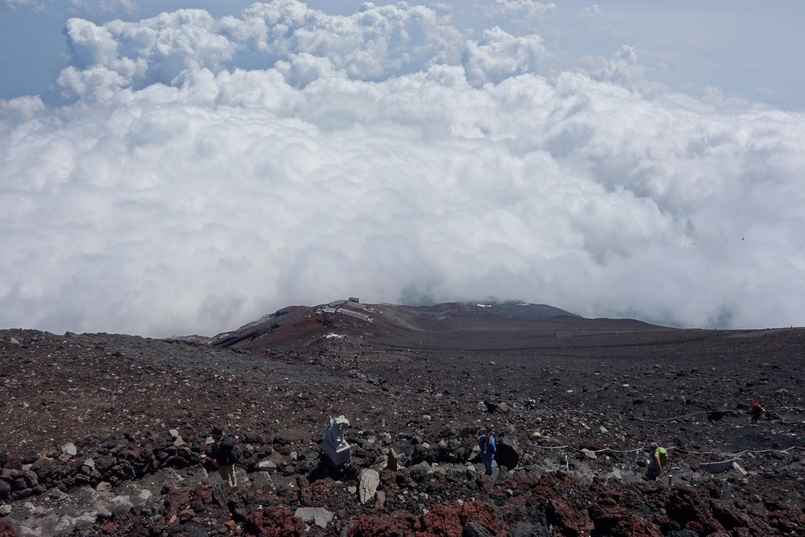 富士山 富士吉田口 馬返し〜富士山頂