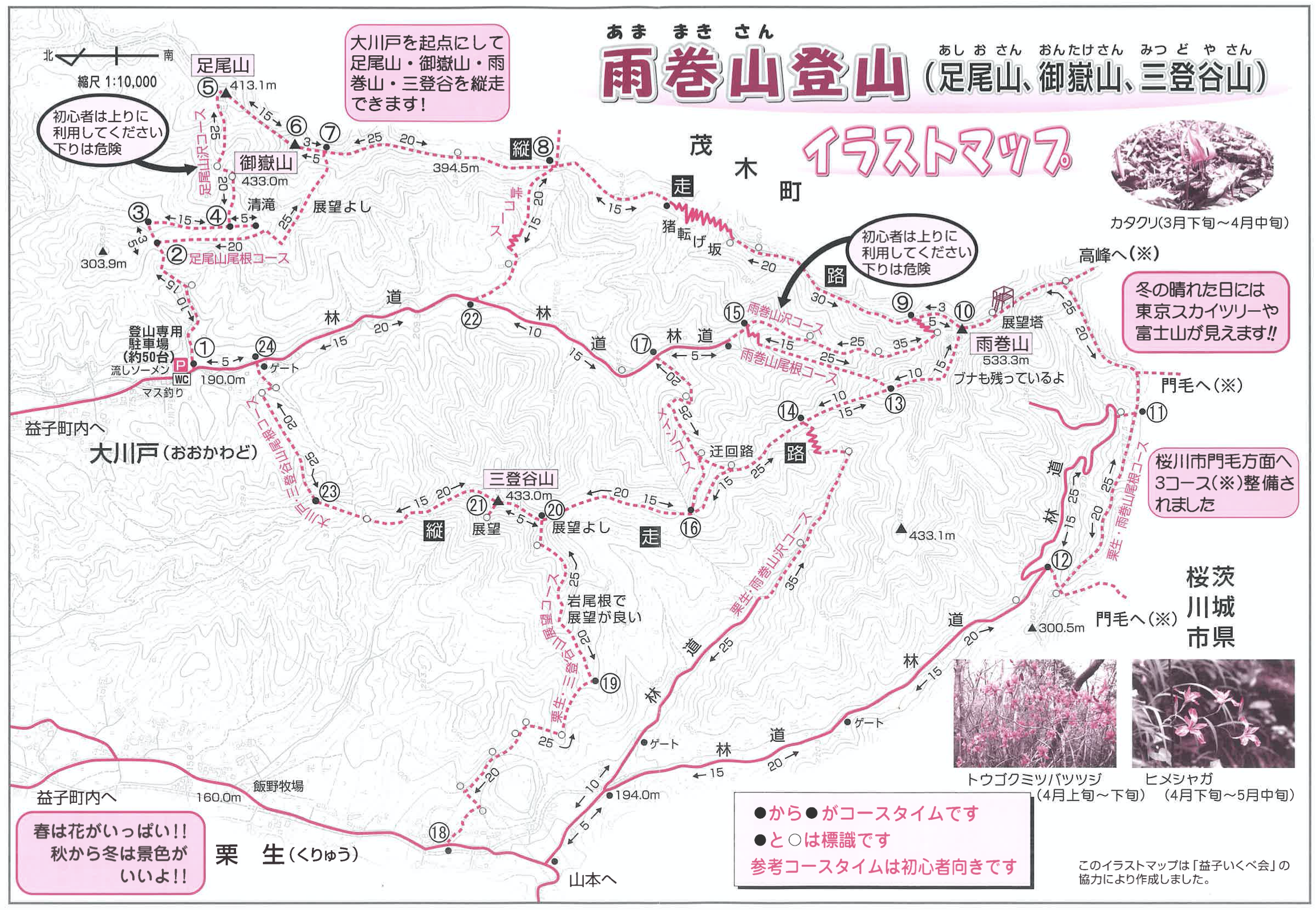 栃木県雨巻山