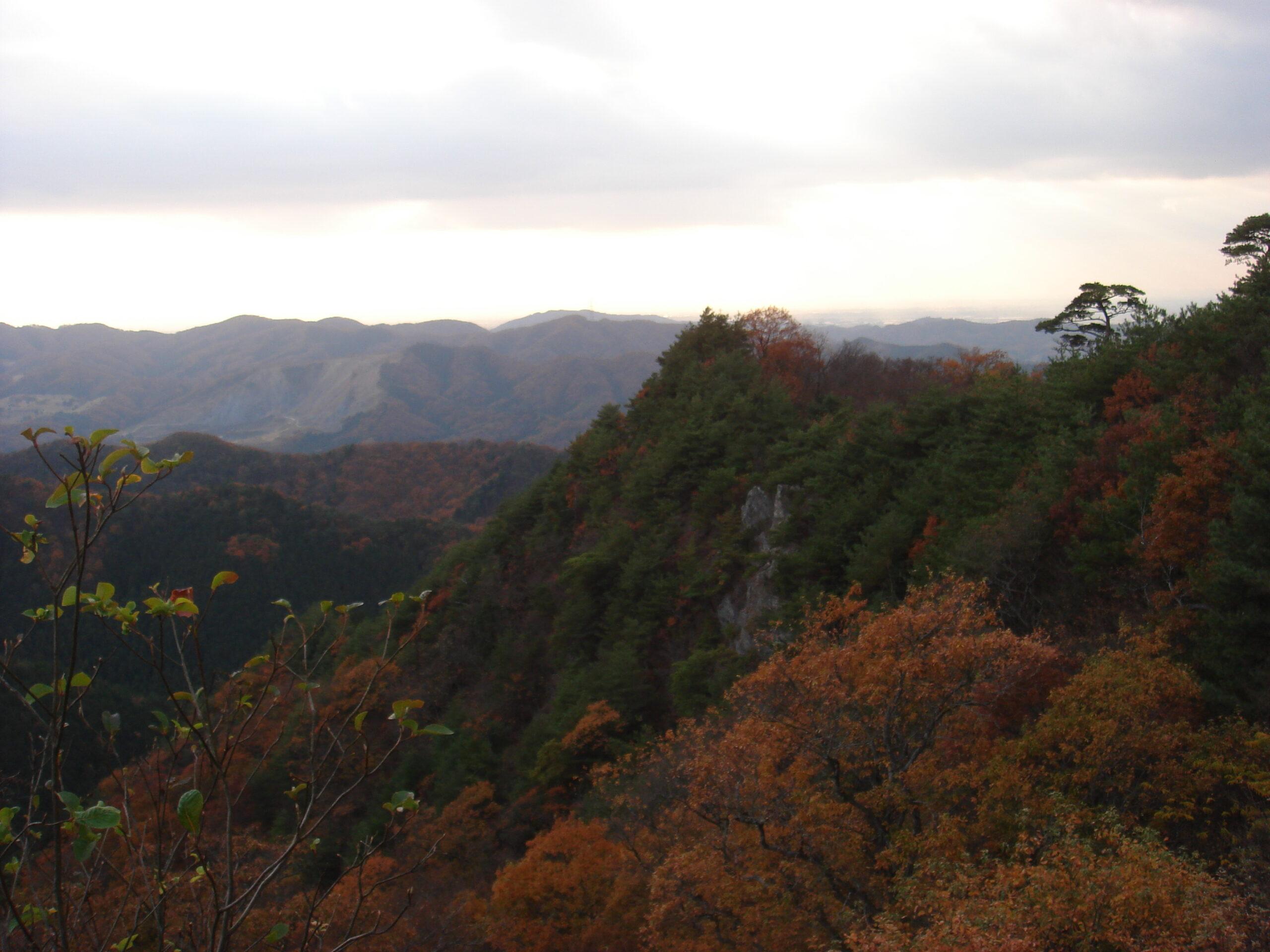 雨巻山〜三登谷山